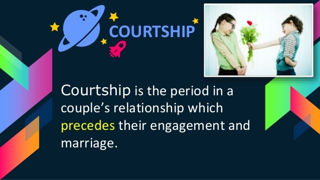 Courtship dating and marriage ppt templates