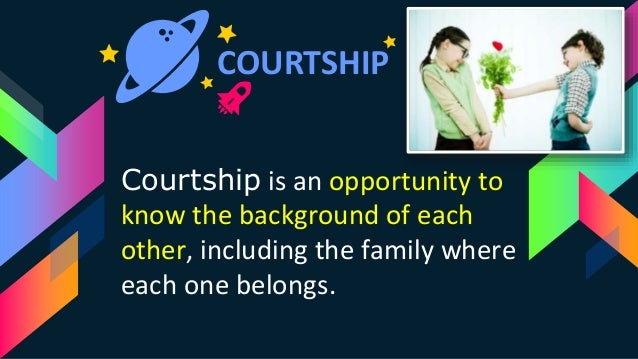 courtship dating marriage By bridget amaraegbu( bridgyfree@yahoocom) courtship is the traditional  dating period before engagement and marriage during a courtship.