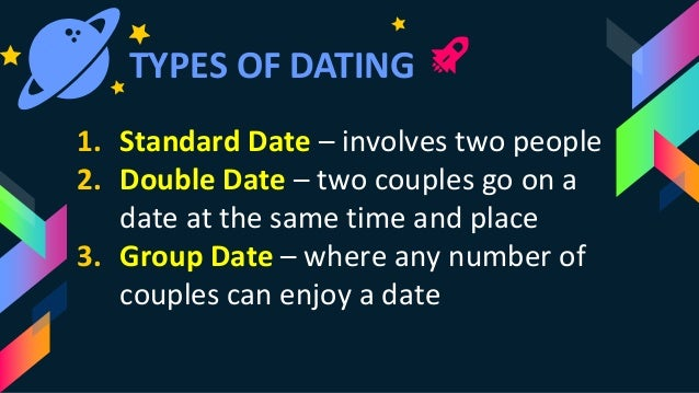 3 different types of dating