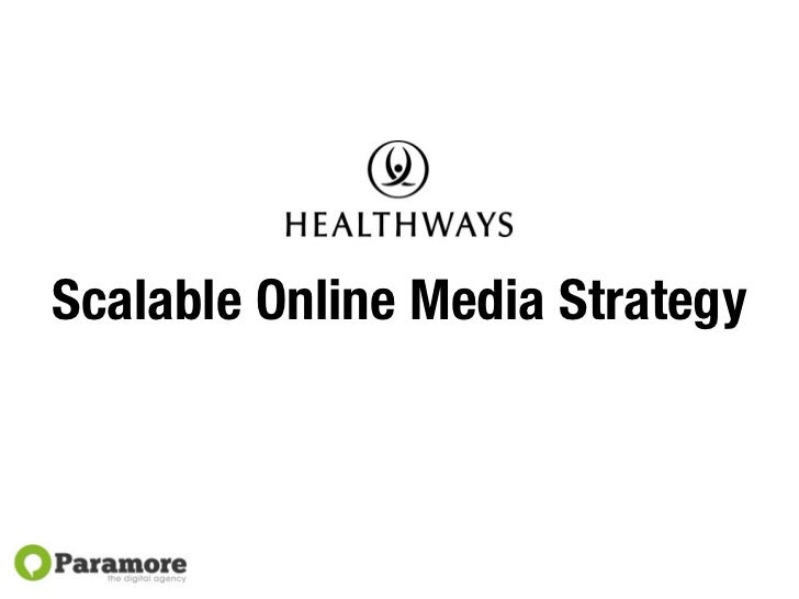 Scalable Online Media Strategy