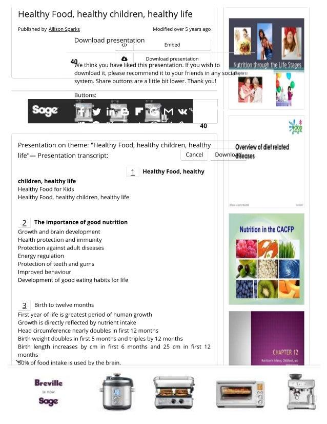 Healthy Slide 2