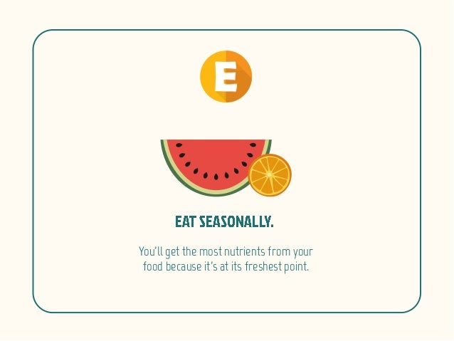 The ABC's of Living a Healthy Life Slide 7