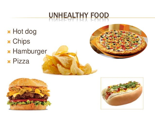 healthy vs unhealthy foods essay