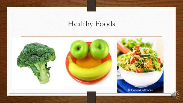 Healthy And Unhealthy Food For Kids