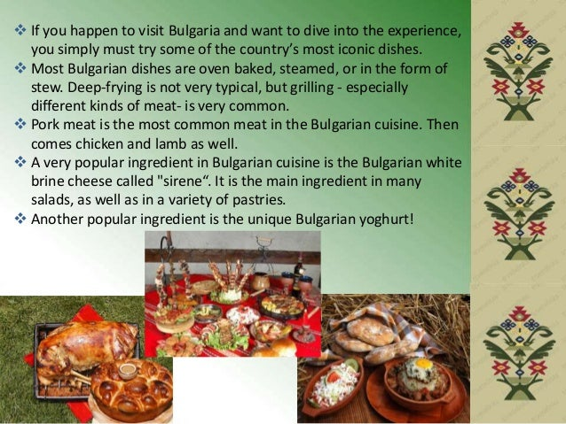 o Banitsa is a very tasty meal, served hot or cold, for breakfast or dinner with yoghurt, ayran, or boza. o Traditionally,...