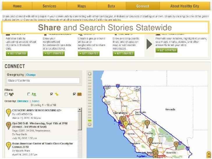 Create Live Mapping Sessions<br />(with Pictures, Video & Audio)<br />A Live Map enables multiple people to :<br /><ul><li...