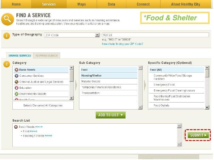 *Food & Shelter<br />