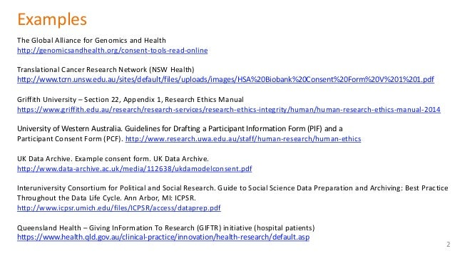 Informed Consent Document Sample with Tips
