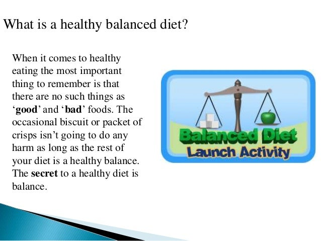 Why Is a Balanced Diet Important to Maintaining a Healthy Body?