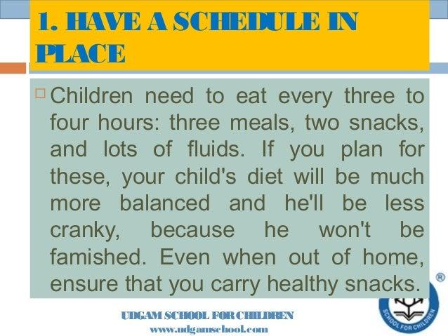 Healthy eating Slide 2