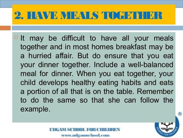 Healthy eating Slide 3