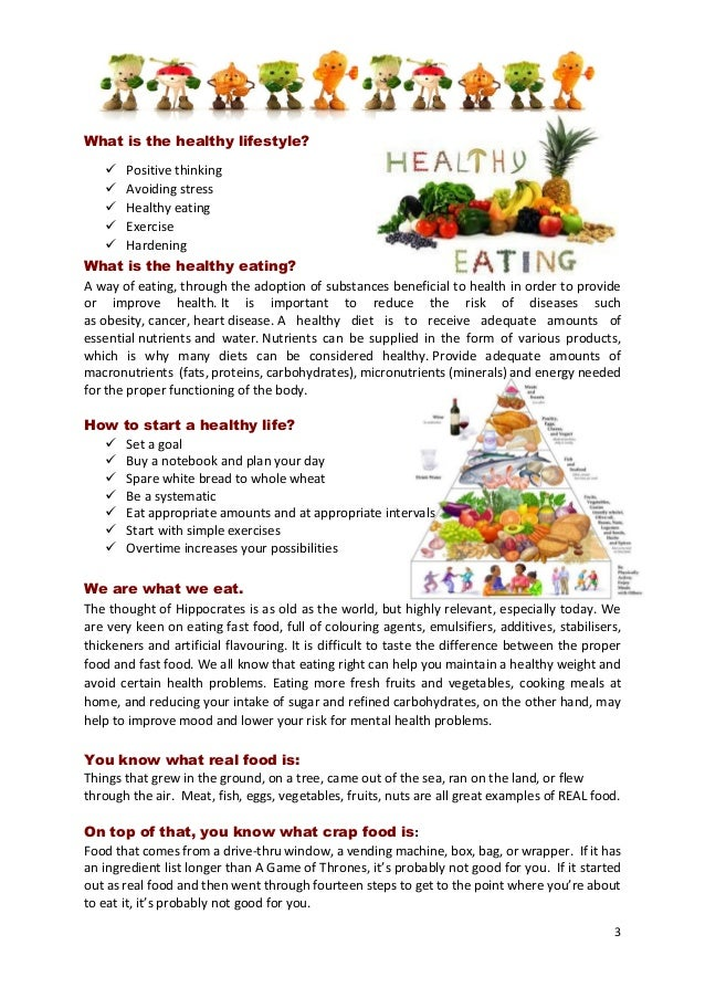 Healthy eating booklet-project games