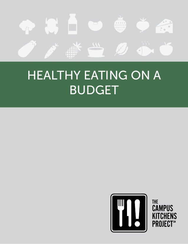 eating healthy on a budget pdf