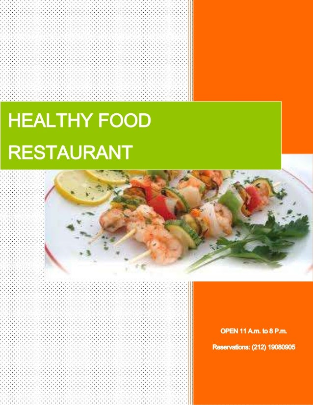 HEALTHY FOODRESTAURANT                 OPEN 11 A.m. to 8 P.m.               Reservations: (212) 19080905