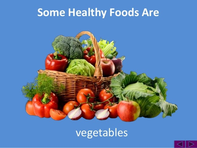 Healthy Foods Examples And Activities
