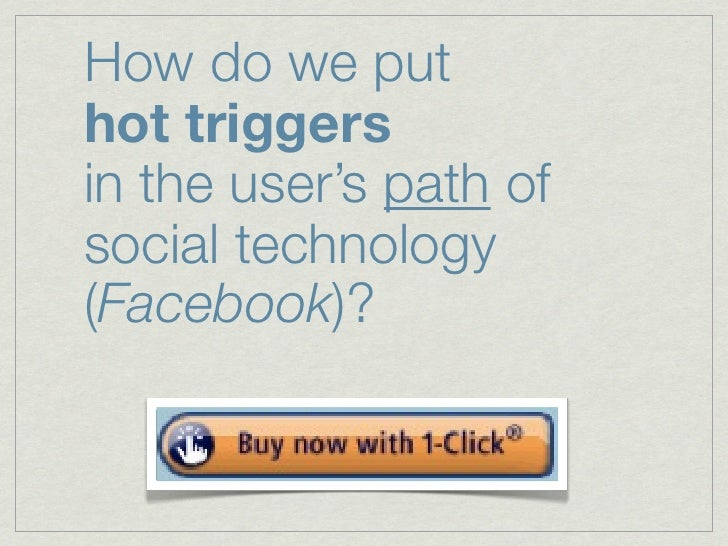 FB apps? NOT on the everyday path of usage