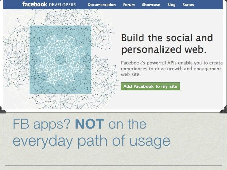 "Checking FB newsfeed: a ""path"" behavior/habit"
