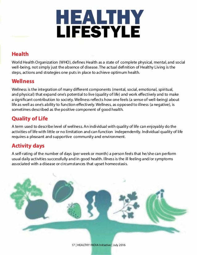 Prevention of lifestyle diseases in india