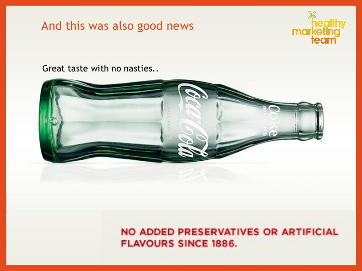 And this was also good news Great taste with no nasties..