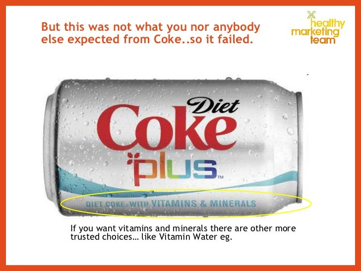 But this was not what you nor anybody else expected from Coke..so it failed. If you want vitamins and minerals there are o...