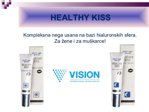 HEALTHY KISS Kompleksna nega usana na bazi hialuronskih sfera. Za žene i za muškarce!