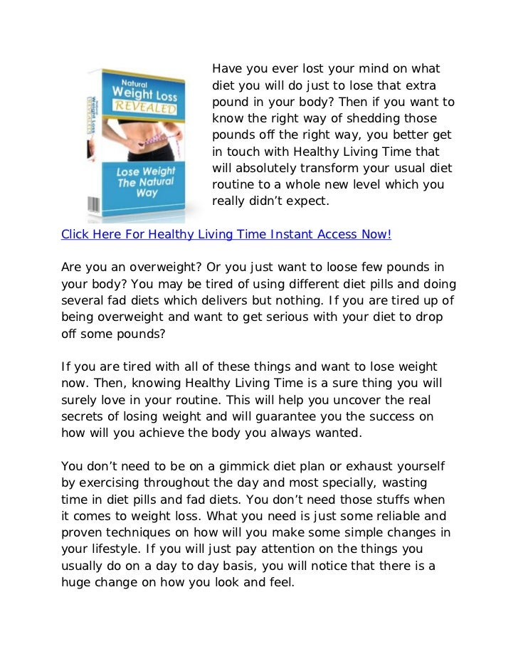 Healthy Living Time Review