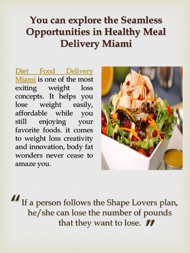 Healthy Living Foods Meal Delivery