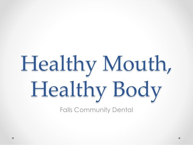 Healthy Mouth Healthy Body 84