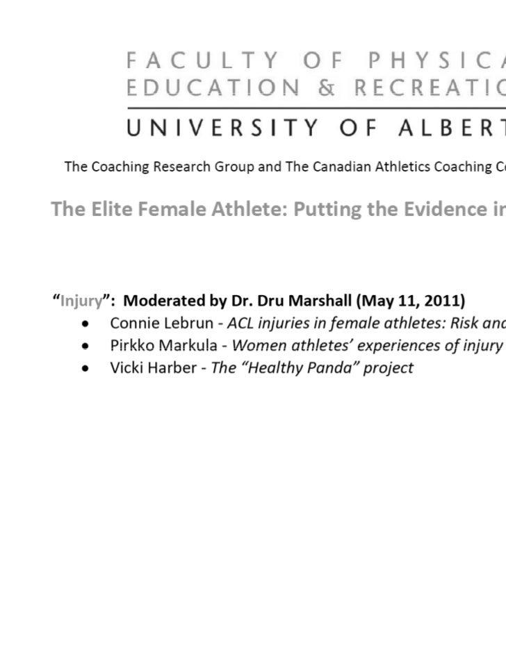The Healthy Panda Project          Vicki Harber, PhD          V k H b    Faculty of Physical Education &               Rec...