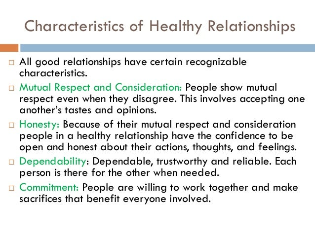 Healthy dating relationship activities