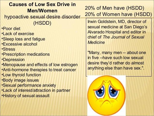 lack of sexual desire in men