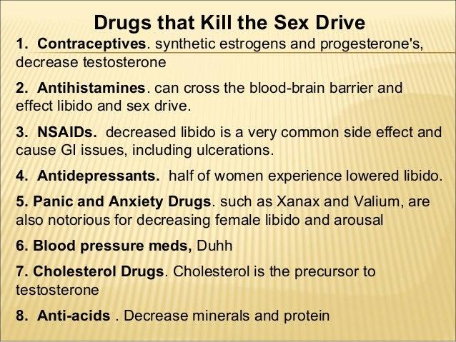 do mens sex drives decrease before womens