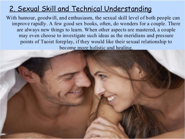 Can a sexual relationship become more