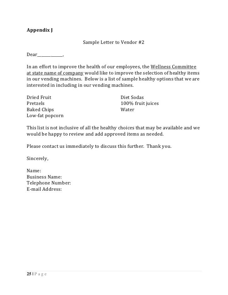 change of address request letter