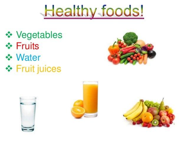 Healthy vs. unhealthy ...