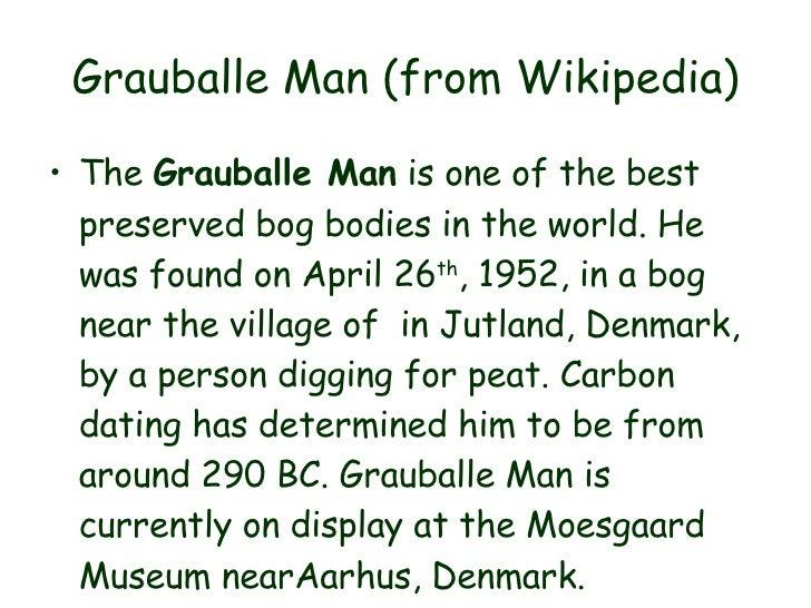 the grauballe man seamus heaney