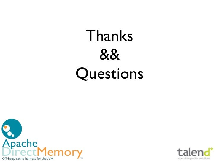 Thanks  &&Questions