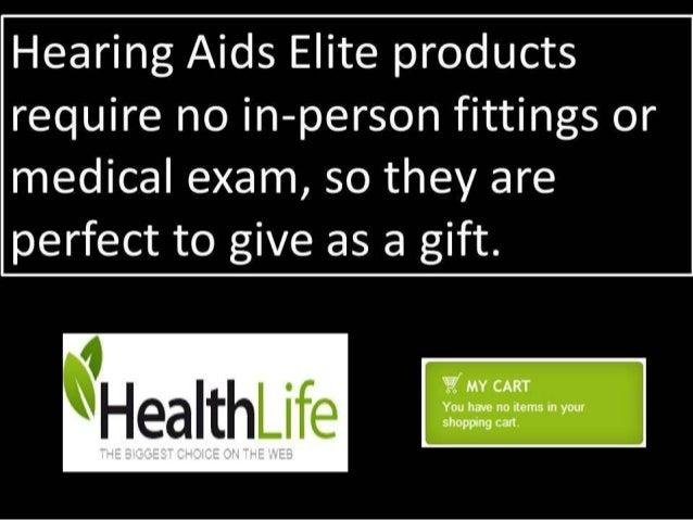 Hearing aids Slide 3