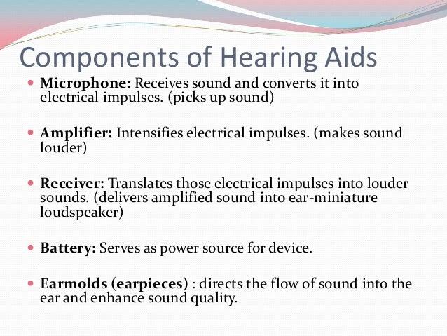 Indication  Hearing loss