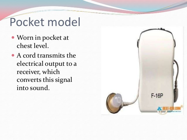 In-the-Canal (ITC)  ITC hearing aids are customized to fit the size and shape of       the ear canal and are used for...