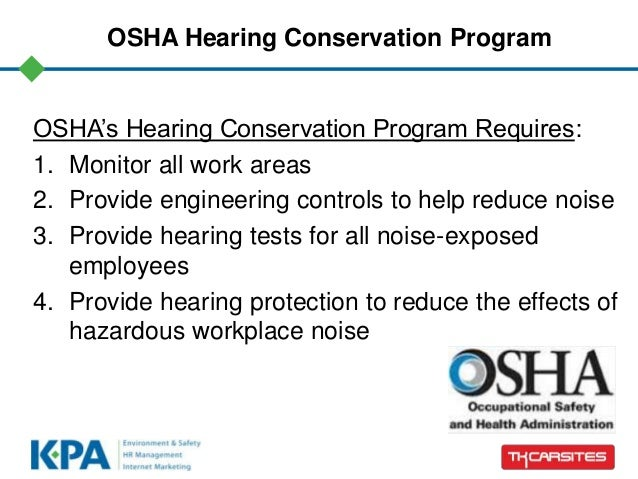 Can you hear me? Hearing protection requirements for dealers