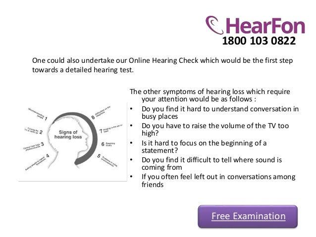 Hearing examination and hearing aid types