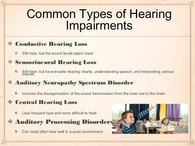 hearing impairement The hearing impairment team provides specialist teaching and support for  children and young people who have a significant hearing impairment (hi) all  our.