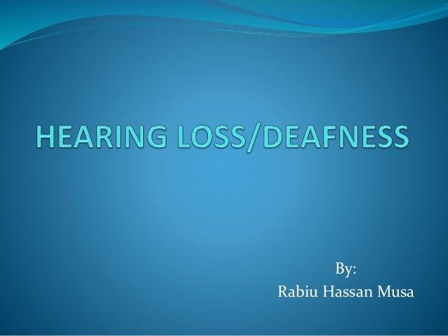 By: Rabiu Hassan Musa
