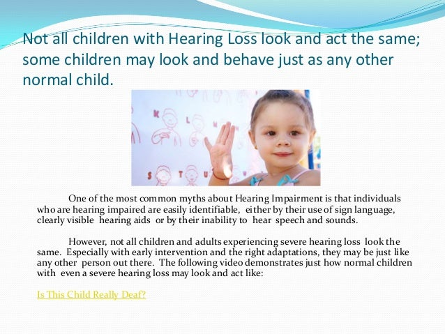 Help for Parents of Children With Hearing Loss