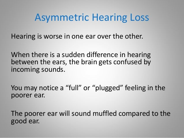 Why is My Hearing Muffled?