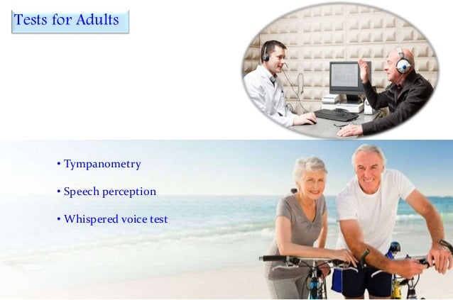 Hearing Tests For Children and Adults