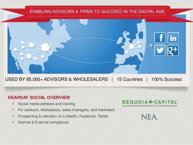 Hearsay Social - DDM Alliance Summit Marketing on Facebook Slide 2