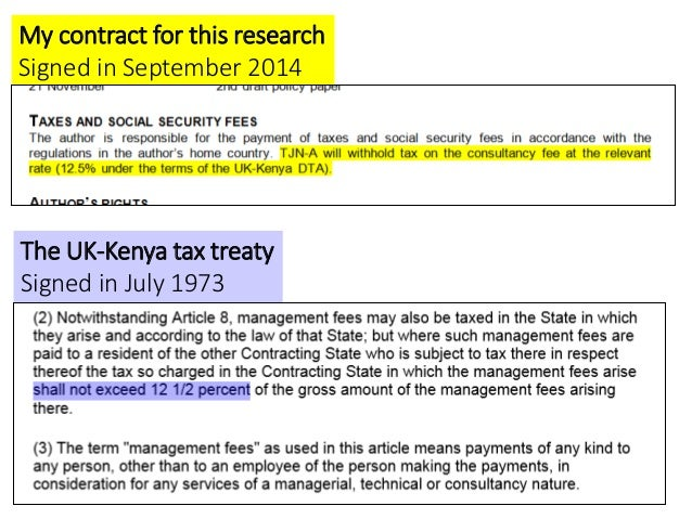 Uganda 2 my contract for this research signed in september 2014 the uk kenya tax treaty signed in july sciox Gallery