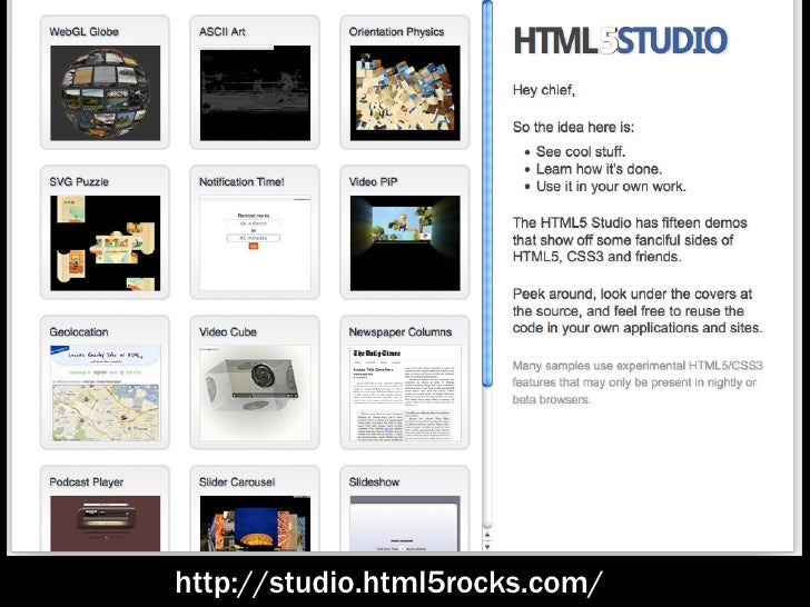 Time to build a better web! Slide 3
